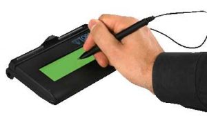 Electronic Signature Pad