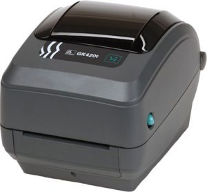 Barcode Printer for Tracking System