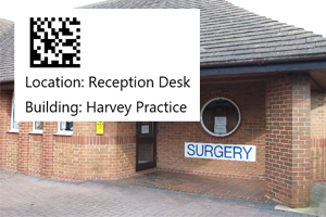 Tracking Pharmacy to GP Surgery with Location Barcode